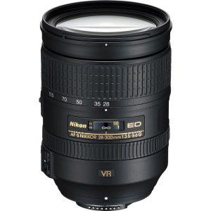 لنز نیکون Nikkor 28-300mm ED VR دست دوم
