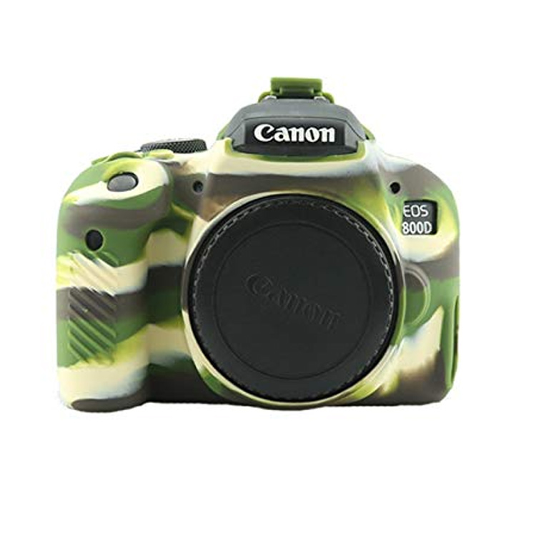 پوشش سیلیکونی Canon 800D رنگ استتار