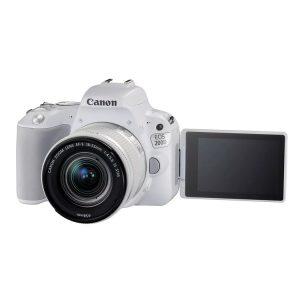 دوربین عکاسی کانن Canon EOS 200D Kit 18-55mm f/4-5.6 IS STM white