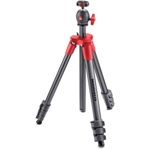 سه پایه مانفروتو Manfrotto Compact Light Aluminum Tripod Red