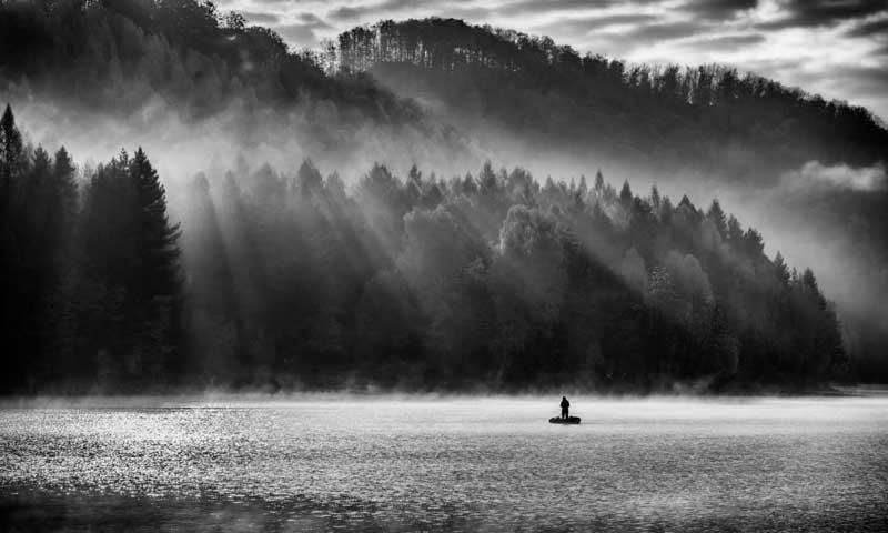 عکس سیاه و سفید دیجیتال
