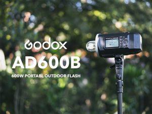 بررسی فلاش پرتابل گودکس Godox AD600B+ویدئو