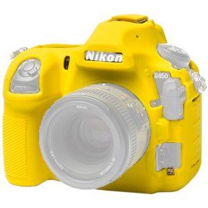 کاور دوربین ایزی کاور Easy cover Nikon D850 رنگ زرد