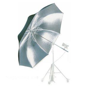 کیت چتر نقرهای بزرگ قطر 2 متر