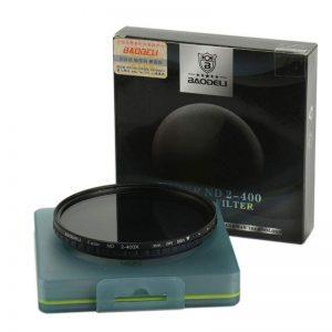 فیلتر لنز بائودلی Baodeli Fader ND 2-400 77 mm