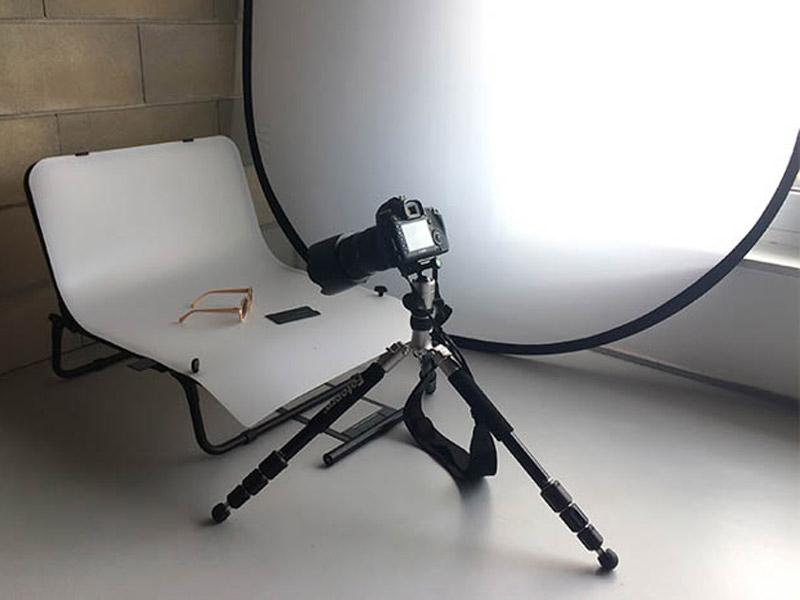 آموزش عکاسی صنعتی با کمترین تجهیزات
