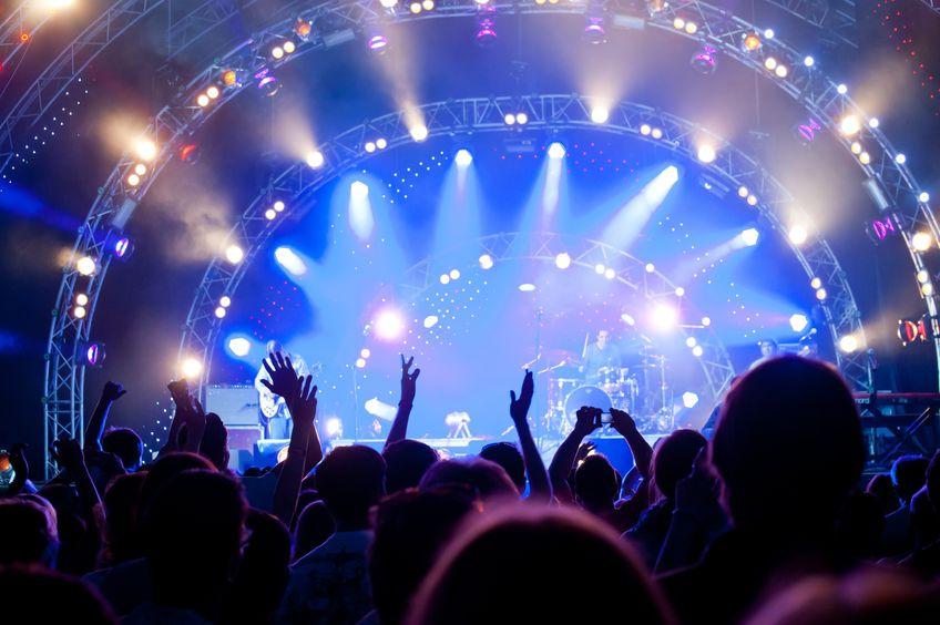 نوردهی در کنسرت و عکاسی