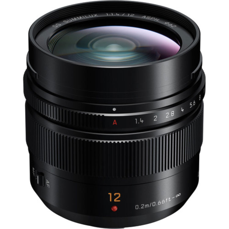 لنز پاناسونیک DG12mm f/1.4