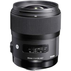 لنز سیگما Sigma 35mm f/1.4 DG HSM Art Lens for Nikon F