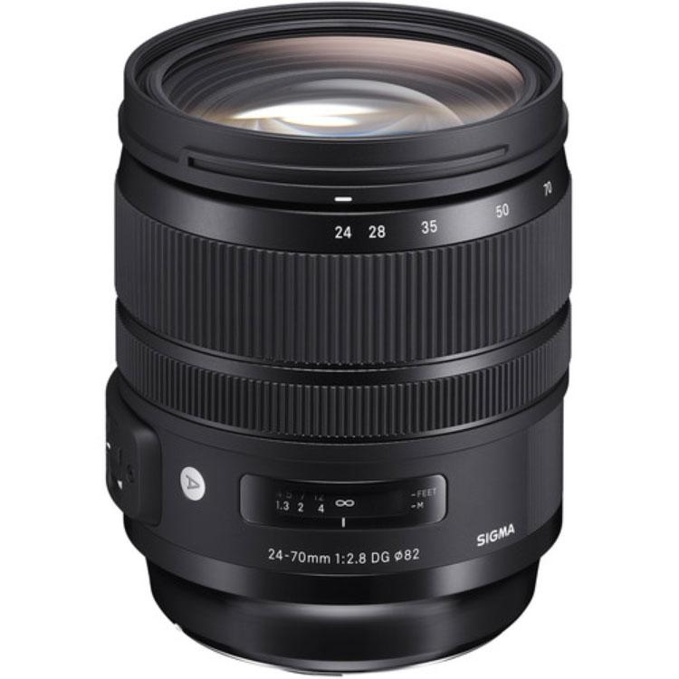 لنز سیگما Sigma 24-70mm f/2.8 for Nikon