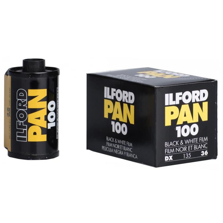 ویدیو نگاتیو Ilford PAN100 Exp Film