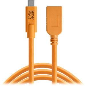 کابل Tether Tools CUCA415-ORG TetherPro USB-C to USB-A