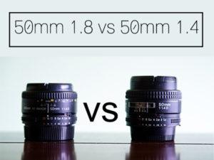 کدام لنز ۵۰ میلیمتر را بخرم؟ f/1.4 یا f/1.8