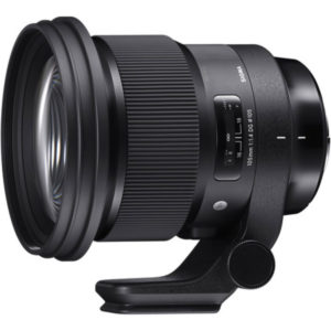 لنز سیگما  Sigma 105mm f/1.4 DG HSM Art Lens for Canon EF