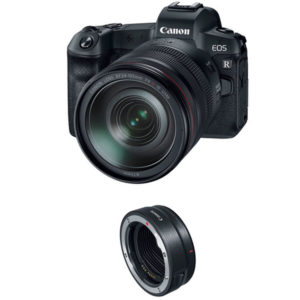 دوربین بدون آینه کانن Canon EOS R Kit 24-105mm and Mount Adapter EF-EOS R