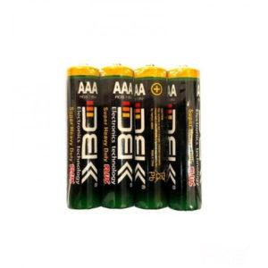 باتری DBK نیم قلمی 4 تایی