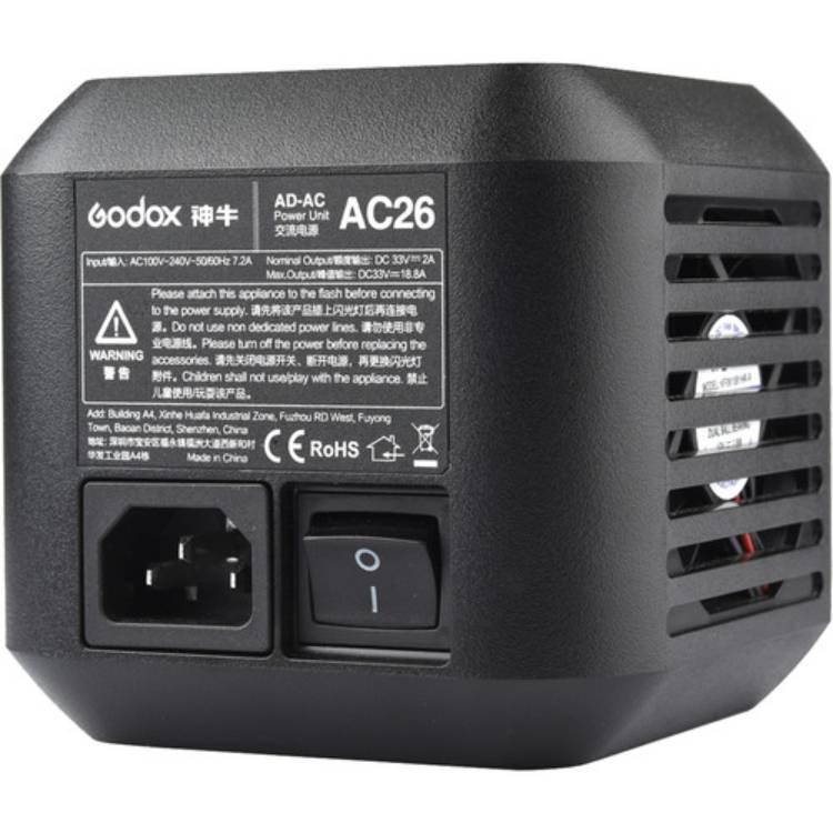 آداپتور برق مسقیم Godox AC-26 Adapter