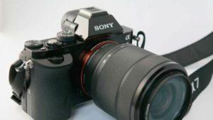 دوربین عکاسی بدون آینه سونی به همراه لنز