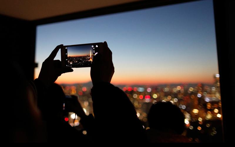 عکاسی با موبایل در شب