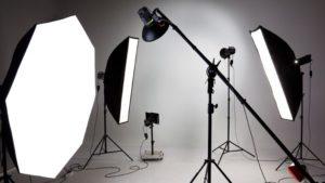 سافت باکسهای عکاسی به همراه پایه و پرژکتور ها