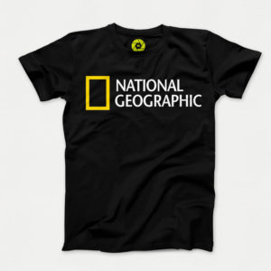 تیشرت National Geographic مشکی مدل TJ117 سایز M