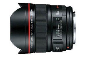 مدلی از لنز دوربین کانن