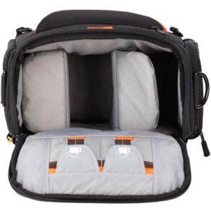 کیف دوربین بنرو رنگ مشکی خاکستری