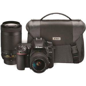دوربین DSLR نیکون به همراه لنز و کیف همراه