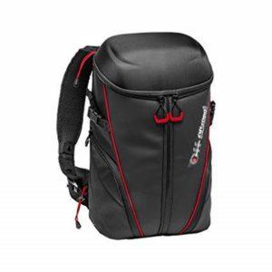 کیف دوربین مانفروتو با رگههای قرمز