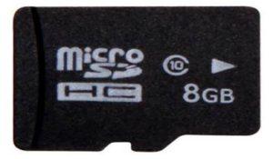کارت حافظه مایکرو اس دی دوربین 8 گیگ