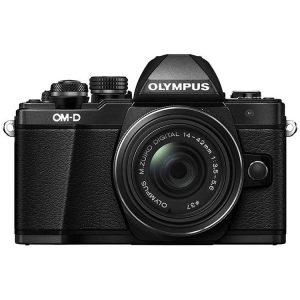 دوربین بدون آینه اليمپوس Olympus OM-D E-M10 KIT 14-42mm - Black