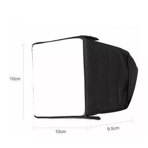سافتباکس رو دوربینی گودکس Godox 10×10 cm Softbox for Speedlite