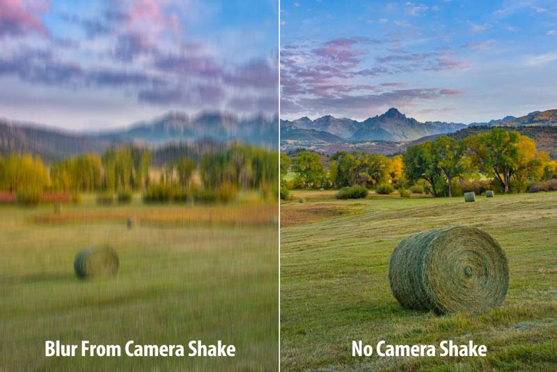 لرزش دوربین چیست
