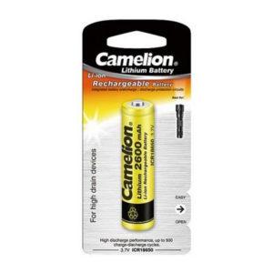 باتری شارژی چراغ قوه Camelion ICR18650