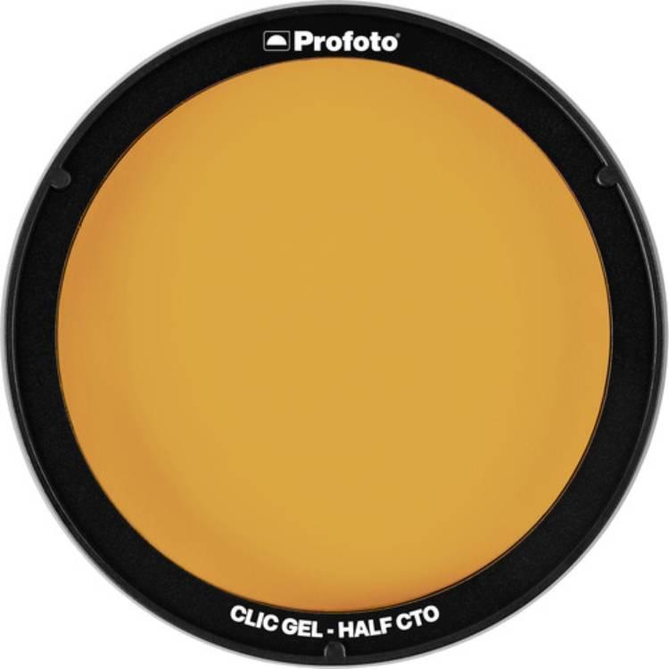 فیلتر رنگی نور پروفوتو Profoto Clic Gel -Half CTO