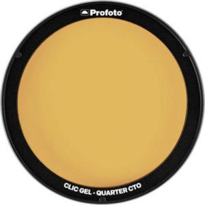 فیلتر رنگی نور پروفوتو Profoto Clic Gel -Quarter CTO