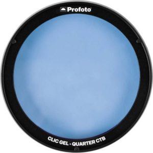 فیلتر رنگی نور پروفوتو Profoto Clic Gel -Quarter CTB