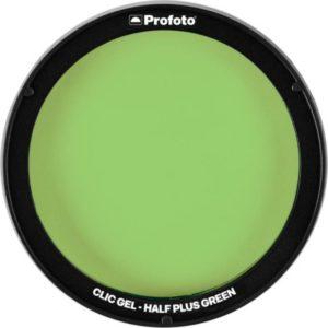 فیلتر رنگی نور پروفوتو Profoto Clic Gel -Half Plus Green