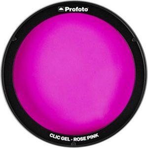 فیلتر رنگی نور پروفوتو Profoto Clic Gel -Rose Pink