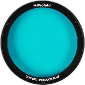 فیلتر رنگی نور پروفوتو Profoto Clic Gel -Peacock Blue