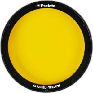 فیلتر رنگی نور پروفوتو Profoto Clic Gel -Yellow
