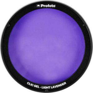 فیلتر رنگی نور پروفوتو Profoto Clic Gel -Light Lavender