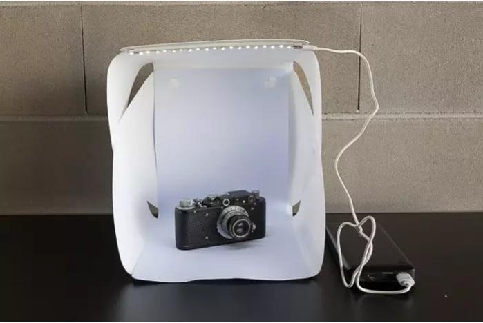 چگونه خیمه عکاسی بسازید