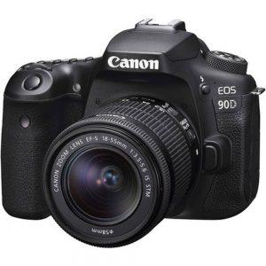 دوربین عکاسی کانن Canon EOS 90D DSLR kit 18-55mm STM