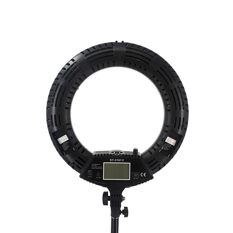 رینگ لایت عکاسی SY-3161 II با نمایشگر