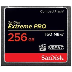کارت حافظه SanDisk 256GB Extreme Pro CF 1067X