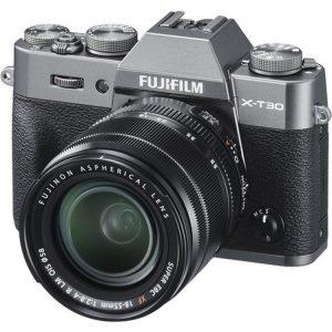 دوربین بدون آینه فوجی FUJIFILM X-T30 Mirrorless kit 18-55mm Charcoal Silver