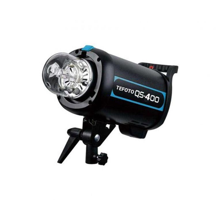 فلاش استودیویی تی فوتو TEFOTO QS 400 flash studio kit