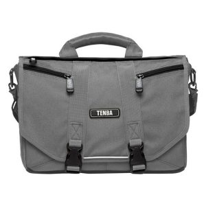 کیف دوربین تنبا (Tenba Photo/Laptop Messenger Bag (Mini,Platinum Grey