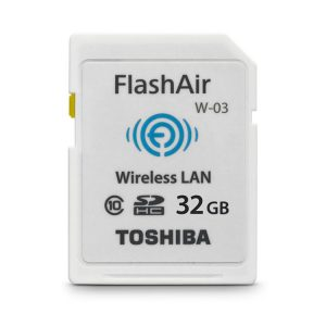 کارت حافظه توشیبا Toshiba SD Card 32G WIFI FlashAir W-03